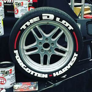 designer series tire graphics lettering kits no tire With how to paint the letters on your tires white