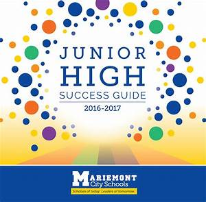 Junior High Success Guide 2016