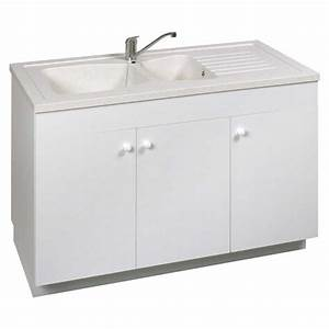 evier buanderie avec meuble sous cuisine inspirations et With meuble sous evier avec lave vaisselle