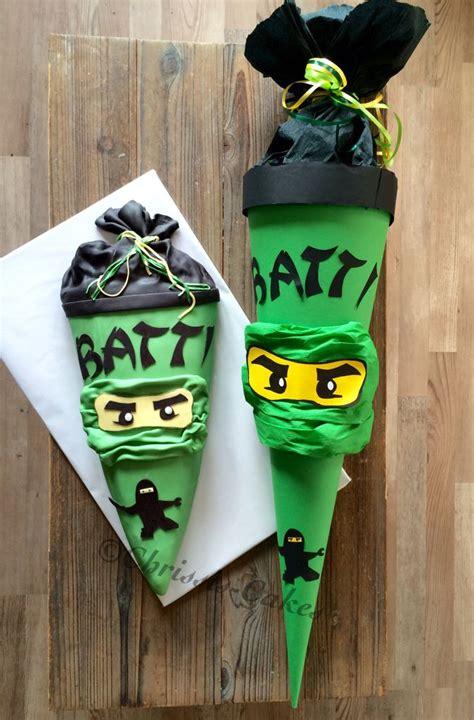 lego ninjago schultueten torte chrissis cakes school