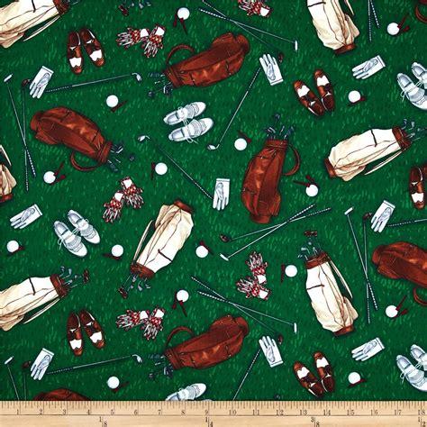 timeless treasures golf golf discount designer fabric fabric com