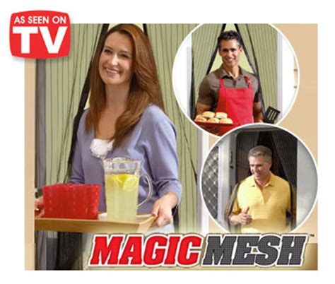 magic mesh magnetic mesh screen door as seen on tv