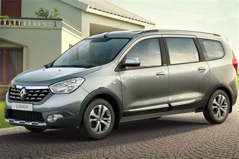 renault lodgy price renault lodgy stepway range launched with prices starting