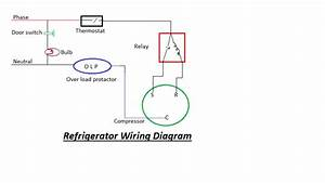 Refrigerator Circuit Diagram