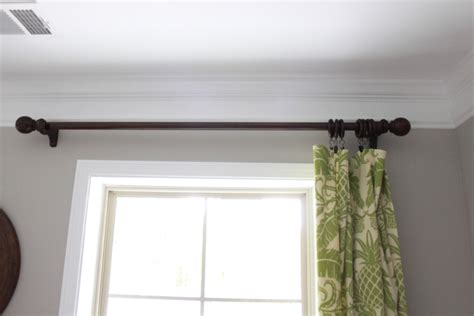 Target Curtain Rod White by Decor Bronze Target Curtain Rods With White Marburn