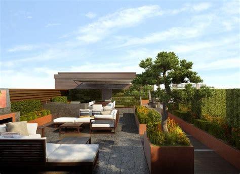 Pflanzen Für Dachterrasse by Moderne Dachterrasse Mit 252 Ppiger Aber Strukturierter