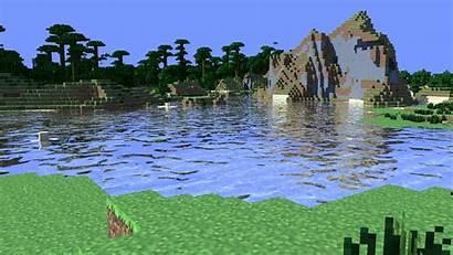 Minecraft 4d Tapeta Jungle Water Fondo Cinema
