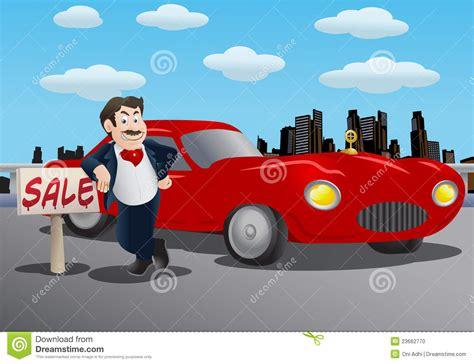 Car Salesman Clipart