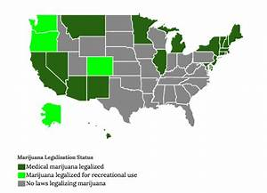 states with legalized pot