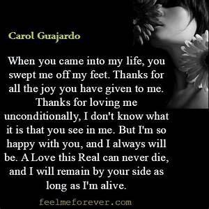 Information About Thank You For Loving Me Unconditionally Quotes