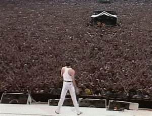 gif music Concert Freddie Mercury Queen legend Tribute ...