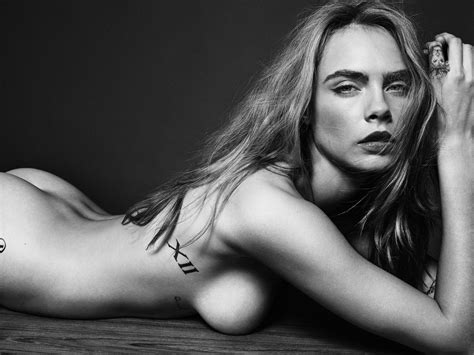 Cara Delevingne Nude For Esquire Uk Nsfw Celebrity Naked