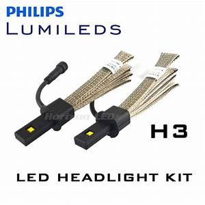 H3 Philips Lumileds Luxeon Headlight Led Kit