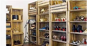 Dressing meubletete de lit en palette ou caisse bois for Idee deco cuisine avec magasin lit