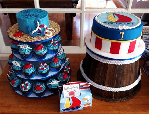 Nautical First Birthday Cakecentralcom