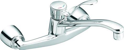 wall mount kitchen faucet single handle moen single handle wall mount kitchen faucet