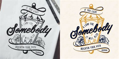 hand drawn typography poster by jenna bresnahan on inspirationde