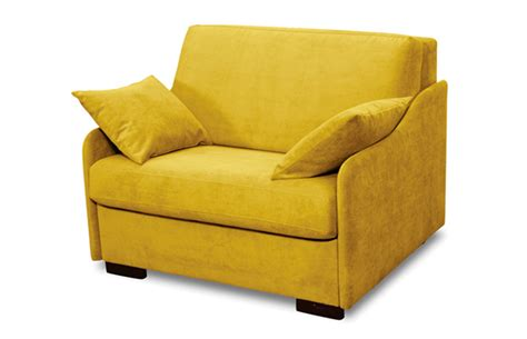 canape convertible bz nighty fauteuil convertible 1 place couchage 80 salon