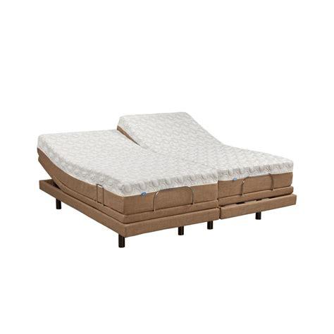 split king mattress blissful nights 11 in dahlia split king memory foam