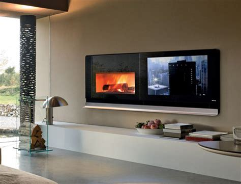 scenario fireplace tv solves  television  top