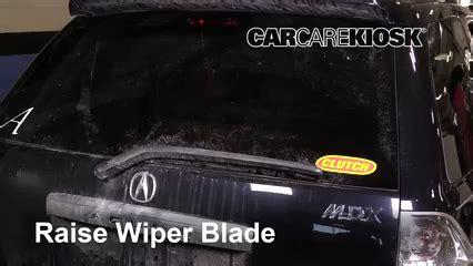 how make cars 2001 acura mdx windshield wipe control rear wiper blade change acura mdx 2001 2006 2005 acura mdx 3 5l v6