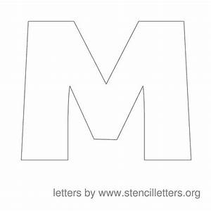 large stencils stencils and letters on pinterest With letter and number stencils