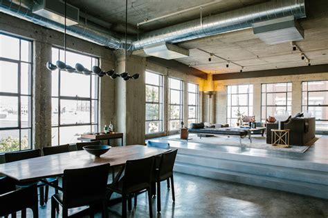 la arts district loft exudes simplicity sophistication