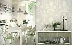 Unique Kitchen Wallpaper Ideas on Small Home Decor ...