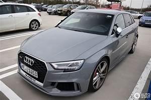 Audi Rs3 Sportback 2017 : audi rs3 sportback 8v 2018 18 december 2017 autogespot ~ Medecine-chirurgie-esthetiques.com Avis de Voitures