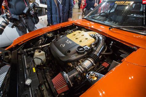 fairlady z engine rocky auto vq powered s30 at tokyo auto salon 2016