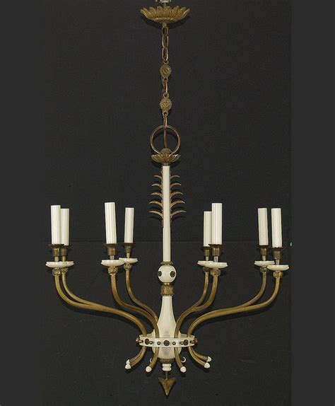 French Countrystyle Chandelier, Arrow Motif