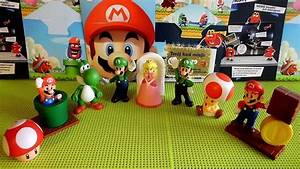 2013 Nintendo Super Mario Toys Full Set Happy Meal