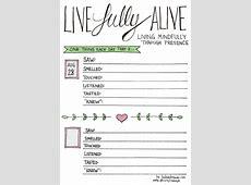 A Mindfulness Bullet Journal Layout Living Present