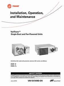Trane Vav Equipment Specifications