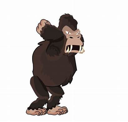 Gorilla Clipart Gorila Market 2d Transparent Gamedev
