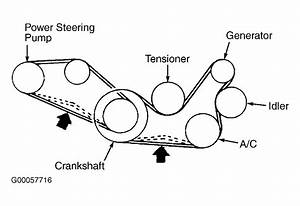 2002 Mitsubishi Lancer Serpentine Belt Routing And Timing