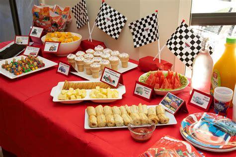 disney cars birthday party food labels  printable