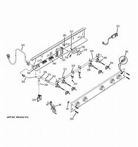 assembly view for manifold assembly zgu36l4rh5ss With manifold switch assembly diagram parts list for model b09j50020