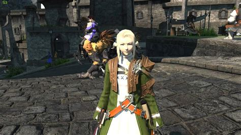 ffxiv arr  ponytail hairstyle  gold saucer