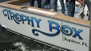 trophy box jupiter florida boat transom boats transom With boat transom lettering