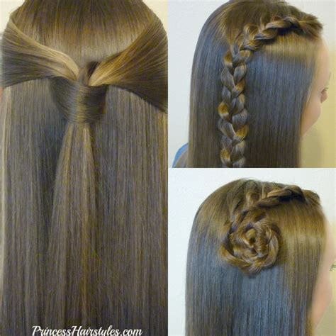 Easy Princess Hairstyles For by 3 And Easy Back To School Hairstyles Part 1