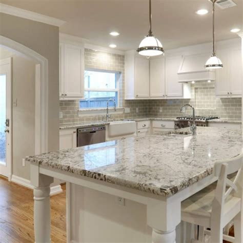current obsessions  heavenly kitchens  white granite