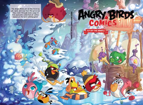 angry birds comics vol  fly   handle idw
