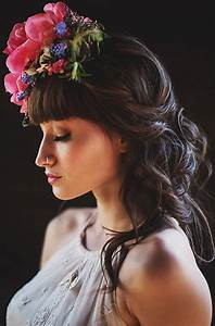 Boho Bridal Fabulous Floral Crowns And Bouquets