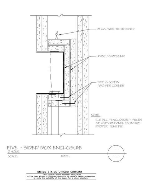 USG Design Studio | 09 21 16.327 Gypsum Board Assembly