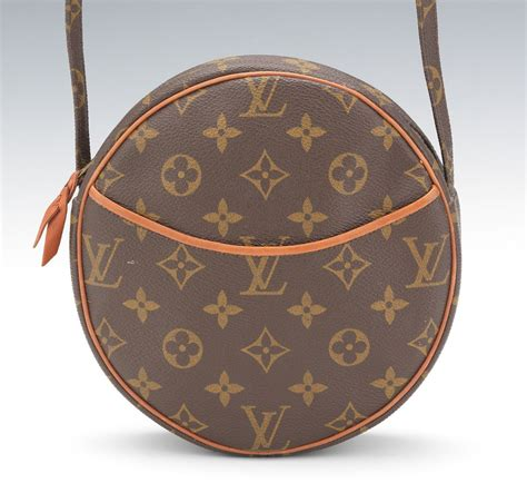 louis vuitton vintage monogram canvas  crossbody bag
