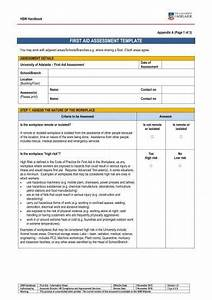 9  Workplace Assessment Templates And Examples