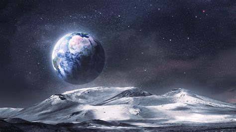 landscape wallpaper landscape planet earth moon wallpaper