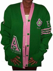 ivy league cardigan sweater pink green dear alpha With greek letter sweaters