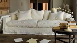 Canapé Très Confortable : photos canap tissu confortable ~ Teatrodelosmanantiales.com Idées de Décoration